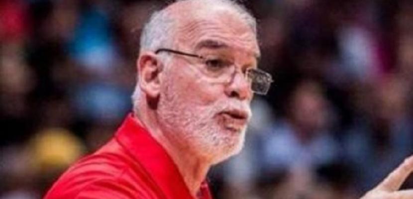 """الأهلي يعلن تعيين البرتغالي ماريو بالما مديرًا فنيًا لـ""""رجال السلة"""""""
