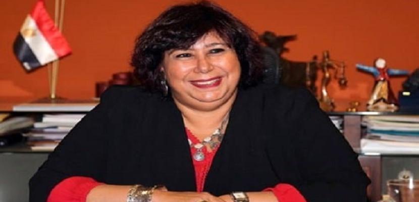 وزيرة الثقافة تشهد ختام الدورة السادسة من ملتقى الخط العربي