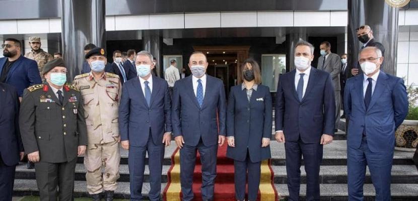 وزيرة الخارجية الليبية تدعو تركيا لسحب قواتها والمرتزقة من ليبيا