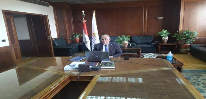 بالصور.. عبد العاطى :  مصر تواجه العديد من التحديات المائية علي رأسها الإجراءات الأحادية للجانب الإثيوبى