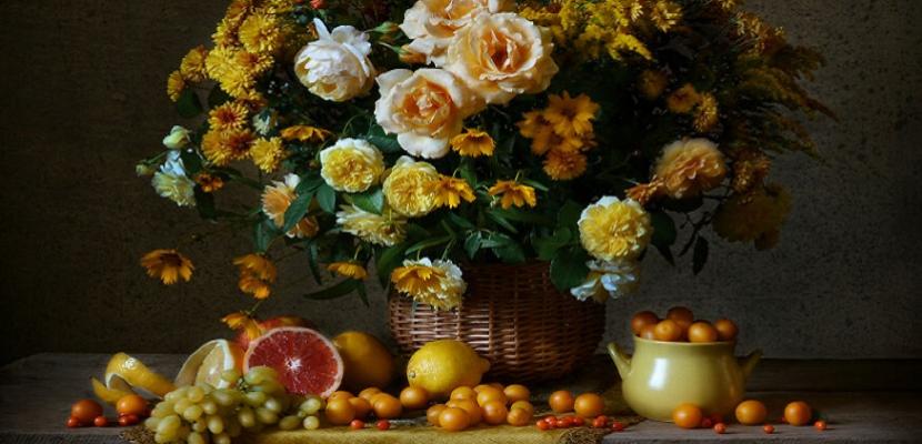 الزهور .. تتألق في أجمل أشكالها