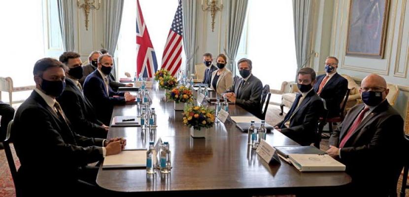 وزراء خارجية مجموعة السبع يلتقون اليوم في لندن في أول اجتماع لهم وجها لوجه منذ أكثر من عامين