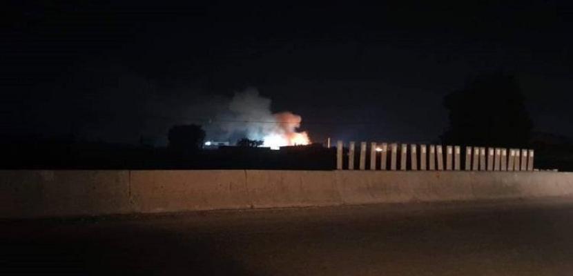 الدفاعات السورية تتصدى لهجوم إسرائيلى فى غرب حماة