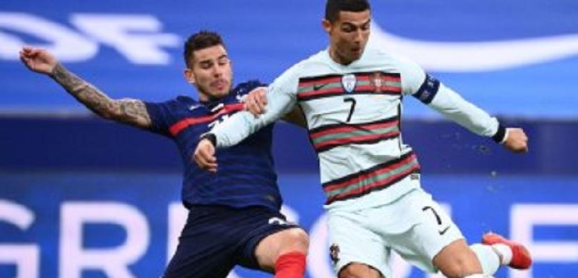 البرتغال حامل اللقب في اختبار مصيري أمام فرنسا بطل العالم فى يورو 2020