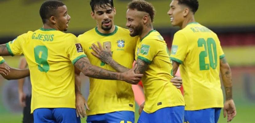 البرازيل تواصل صدارتها لتصفيات كأس العالم 2022 بالفوز على باراجواي 2/صفر