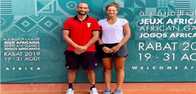 محمد صفوت وميار شريف يودعان تصفيات ويمبلدون للتنس من الدور الثاني