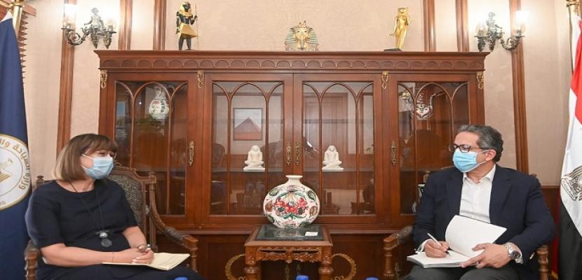 وزير السياحة و الآثار يستقبل المُنسق المقيم للأمم المتحدة في مصر