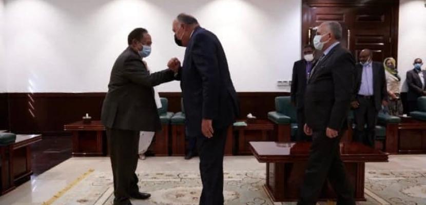 مصر والسودان يعربان عن بالغ القلق إزاء الآثار والأضرار المحتملة لملء وتشغيل سد النهضة بشكل أحادي