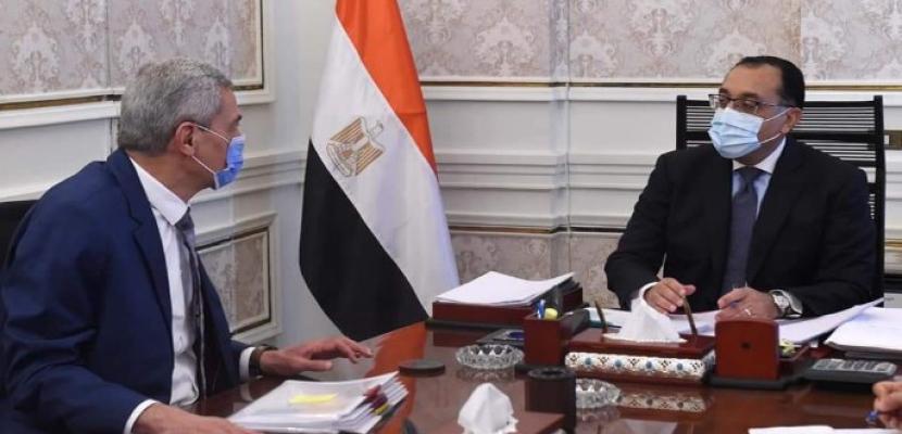 بالصور.. رئيس الوزراء يُتابع ملفات عمل الهيئة المصرية للشراء الموحد والإمداد والتموين الطبي