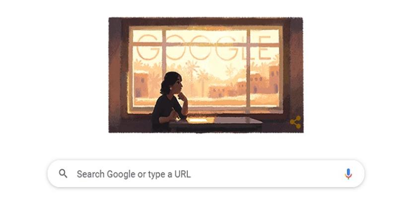 محرك البحث جوجل يحتفل بميلاد الكاتبة أليفة رفعت