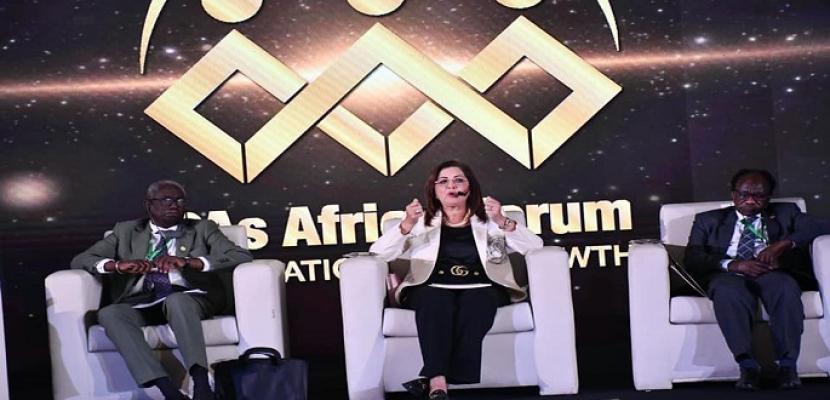 """بالصور.. وزيرة التخطيط تشارك بالمنتدى الأول لرؤساء هيئات الاستثمار الأفريقية """" التكامل من أجل النمو"""""""