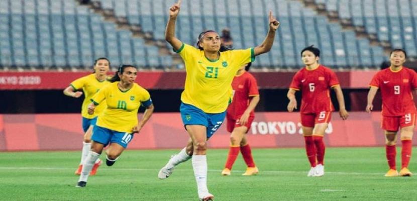كرة قدم سيدات.. البرازيل بقيادة مارتا تسحق الصين.. والسويد تحطم الرقم الأمريكي