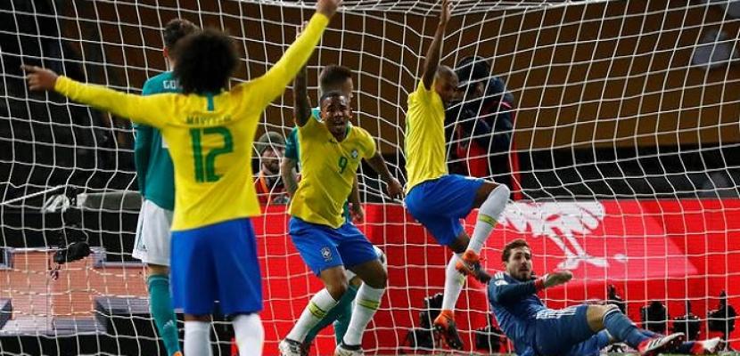 البرازيل تفوز على ألمانيا 4-2 في أولمبياد طوكيو