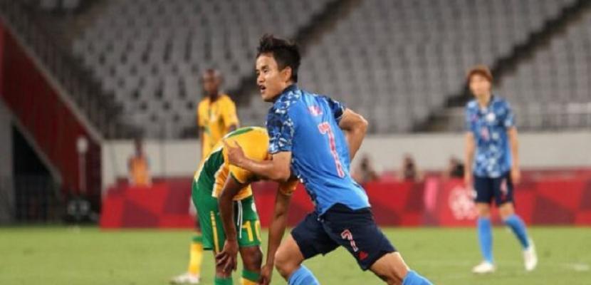 فوز اليابان علي جنوب إفريقيا ورومانيا على الهندوراس في أولمبياد طوكيو