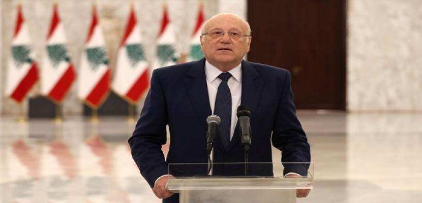 عقب انتهاء الاستشارات النيابية.. ميقاتي: إجماع نيابي على ضرورة استعجال تشكيل الحكومة اللبنانية