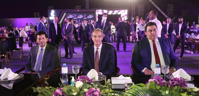 بالصور .. وزيرا الشباب والاتصالات يشهدان حفل تكريم أبطال البعثة البارالمبية