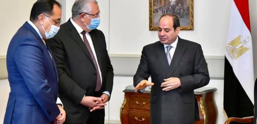 بالصور.. الرئيس السيسي يوجه بالتوسع في مشروع إنتاج البذور محلياً في مصر