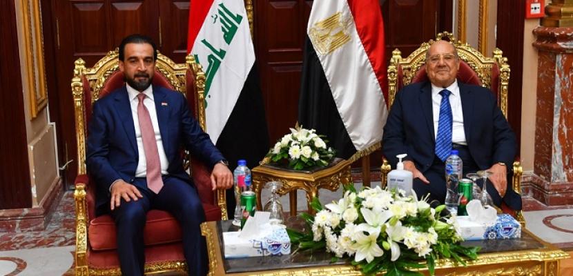 بالصور.. رئيس مجلس الشيوخ يستقبل رئيس مجلس النواب العراقي محمد الحلبوسي