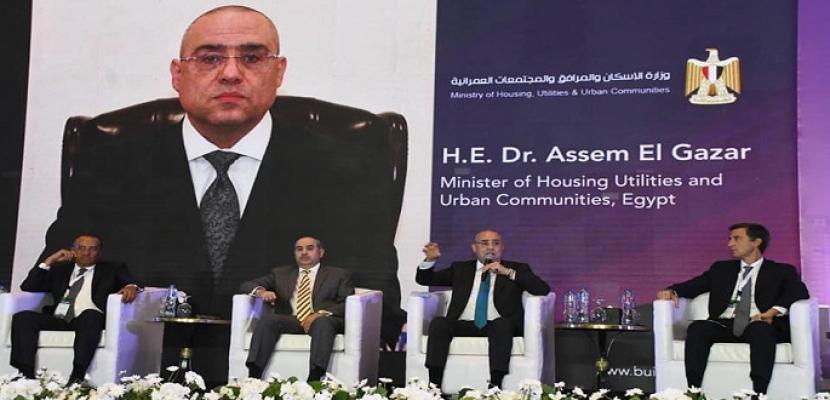 خلال كلمته بملتقى بناة مصر .. وزير الإسكان : العاصمة الإدارية الجديدة هى البداية لتنمية سيناء