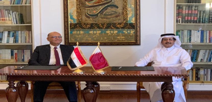 لجنة المتابعة المصرية القطرية تنعقد في الدوحة والتوقيع على عدد من مذكرات التفاهم