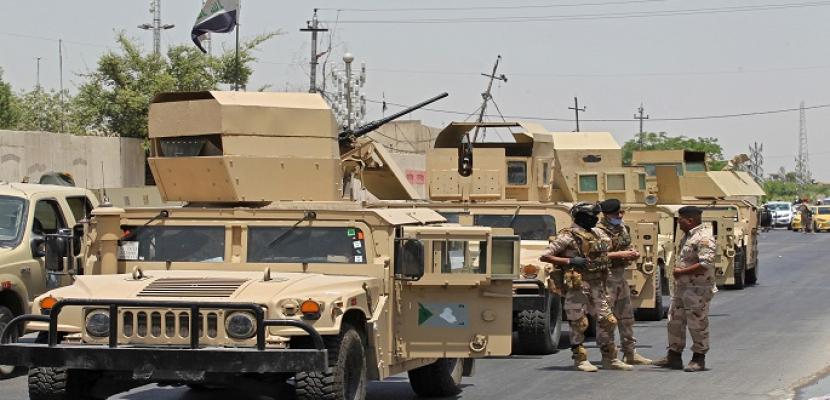 قيادة العمليات المشتركة بالعراق تجري فعاليات أمنية بالمناطق الخالية لمنع حركة الإرهابيين