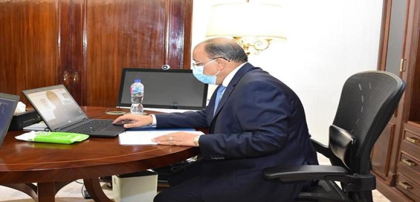 بالصور .. وزير التنمية المحلية يعقد اجتماعاً مع رئيس اتحاد مجالس الكاميرون لاستكمال مباحثات التعاون المشترك