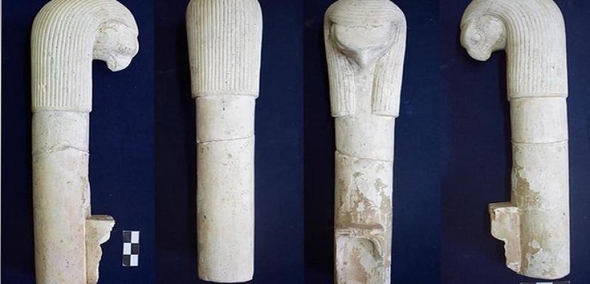 بالصور .. البعثة الأثرية المصرية تكتشف بعض أدوات الطقوس الدينية بمعبد تل الفراعين بكفر الشيخ