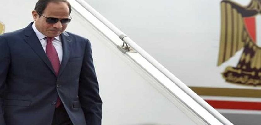 الرئيس السيسي يعود إلى أرض الوطن بعد المشاركة في قمة دول تجمع «فيشجراد» مع مصر