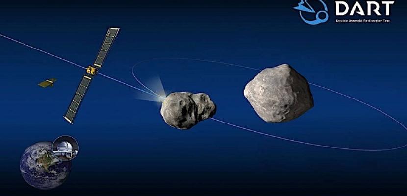 """""""ناسا"""" تطلق مهمة فضائية لتدمير كويكب يهدد الأرض"""