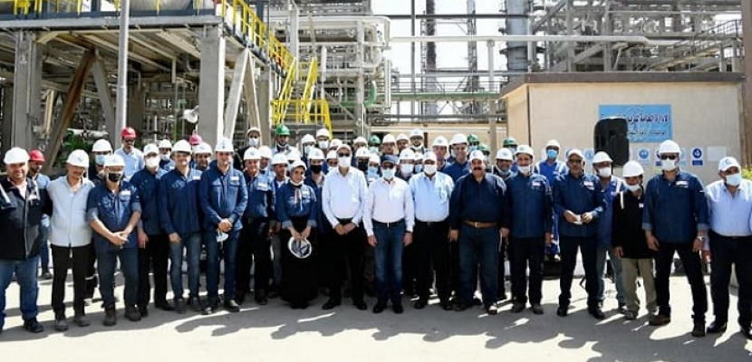 بالصور.. الملا: مصفاة تكرير العامرية لديها فرصة كبيرة لتكون أحد الكيانات المتخصصة فى إنتاج المنتجات البترولية