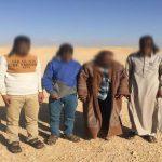 قوات حرس الحدود تواصل جهودها فى توجيه ضرباتها القاصمة للعناصر الإجرامية والمهربين وتجار المواد المخدرة