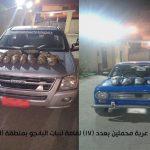 قوات حرس الحدود تواصل جهودها فى توجيه ضرباتها القاصمة للعناصر الإجرامية وتجار المواد المخدرة