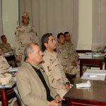 وزير الدفاع يتفقد أحد المعاهد التعليمية للقوات المسلحة