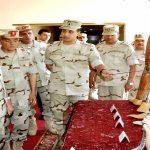 حجازى يتفقد ملامح تطوير جمعية المحاربين القدماء