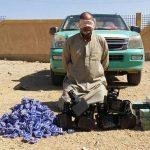 القوات المسلحة تستهدف سيارتين محملتين بالمتفجرات