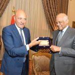 عبد العال يلتقي رئيس لجنة الدفاع بمجلس الشيوخ الإيطالي