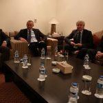 اجتماع القنصل المصرى مع المبعوث الاممى